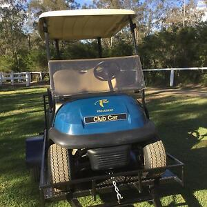 GOLF  CART CLUB CAR PRECEDENT 2011 MODEL with or without trailer Moggill Brisbane North West Preview