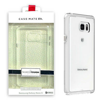 Naked Case - Case Mate Naked Clear Slim Dual Layer Protection Case for Samsung Galaxy Note 5