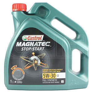 castrol magnatec 5w 30 c2 fully synthetic engine oil 5w30. Black Bedroom Furniture Sets. Home Design Ideas