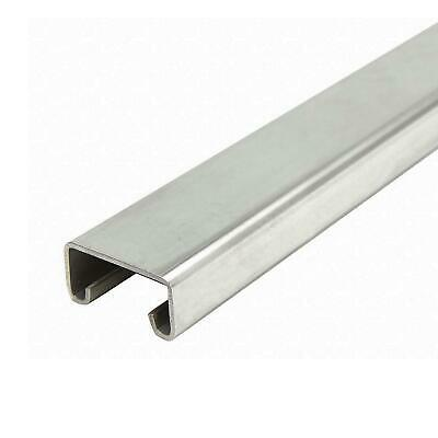304 Stainless Steel Solid Strut Channel 1316 X 1-58 60 Inches 14 Ga.