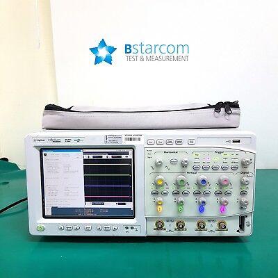 Agilent Mso8064a Infiniium Mixed Signal Oscilloscope 600 Mhz 4 Scope 16 Channel