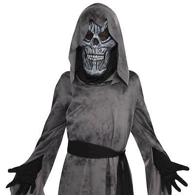 Horror Halloween Kostüm Jungen Leichenfresser Dämon Ghul  Zombie Mask Robe Kids (Zombie Robe Kostüme)