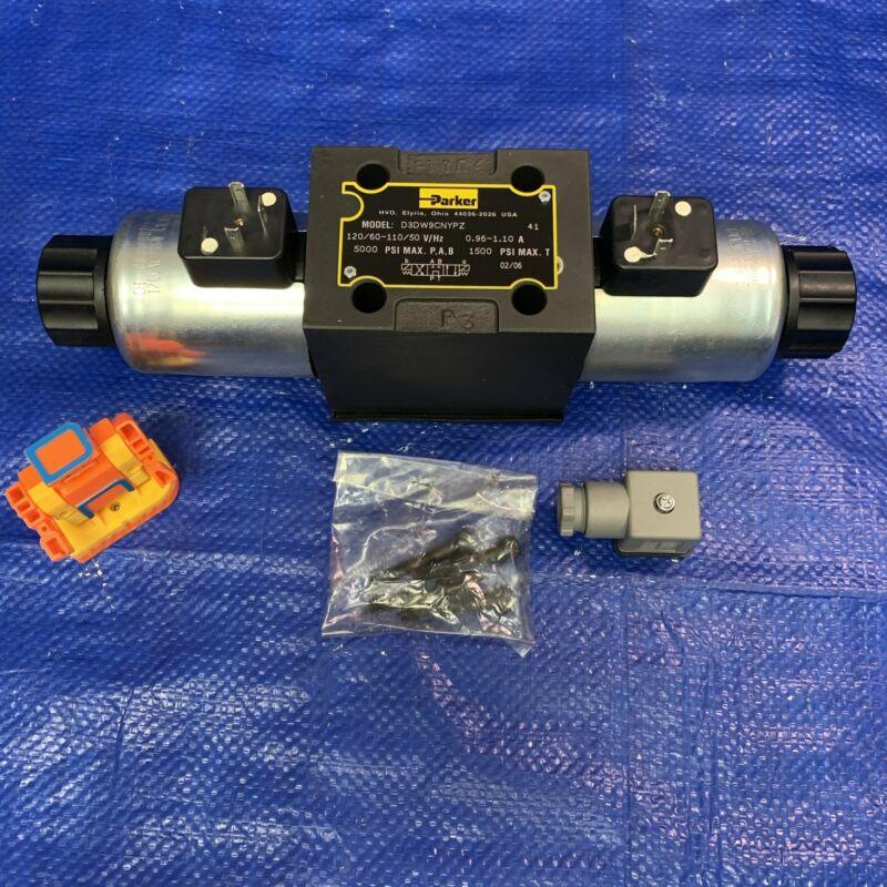 Parker D3DW9CNYPZ Hydraulic Control Valve
