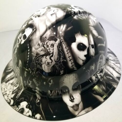 Hard Hat FULL BRIM custom hydro dipped , OSHA approved TEQUILA SHOOTER NEW 2