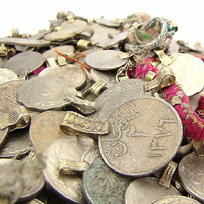 50 real COINS Tribal Belly Dance Kuchi MIXED