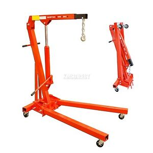 1 TON FOLDING HYDRAULIC ENGINE CRANE/HOIST/LIFT