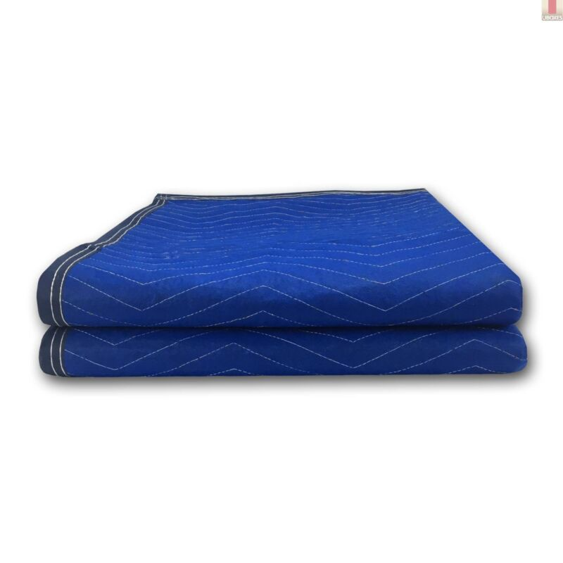 "Pro Economy Moving Blankets (2 Pack) 72""x80"" Blue 35lbs/doz 2.92lb/ea"
