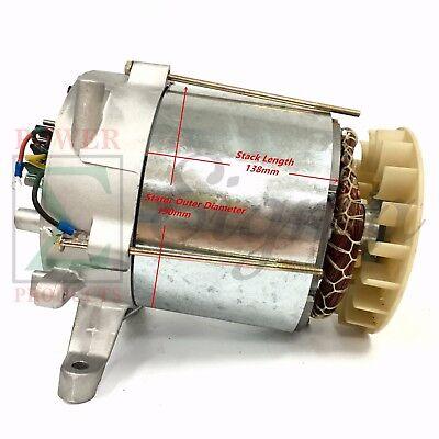 Tapered Cone Alternator Rated 5000 Watt Brush Design Generator Head With Avr