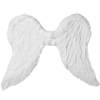 Engelsflügel Feder Engel Flügel Fee Weihnachten Kostüm Fasching Karneval - Engel Kostüm Accessoires