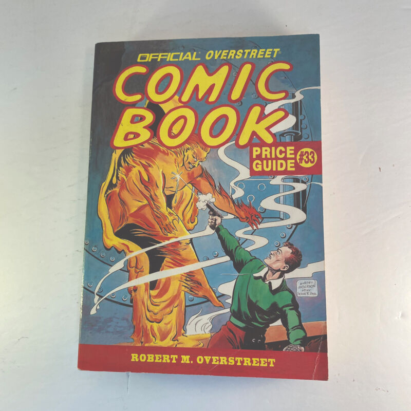 OVERSTREET - THE COMIC BOOK PRICE GUIDE #33 2004