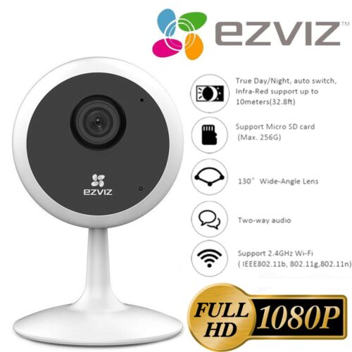 EZVIZ Security Camera WIFI 1080P Smart APP Night Vision 2-Way Audio C1C