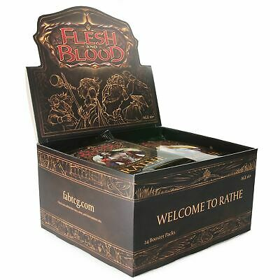 FLESH AND BLOOD Welcome to Rathe Booster Box ALPHA First 1st Edition OOP
