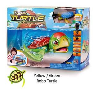 Zuru robo fish turtle play set robotic pet toy swims for Zuru robo fish