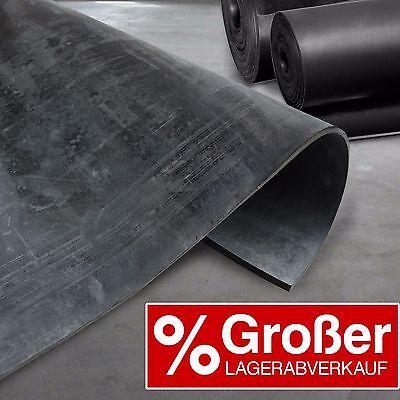 Floordirekt | SBR Gummimatte 8mm | 120 cm Breit | Gummiplatte Bautenschutz SALE