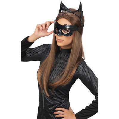 Catwoman Eyemask Ears Goggles Womens Dark Knight Rises Halloween Accessory Prop (Goggles Catwoman)