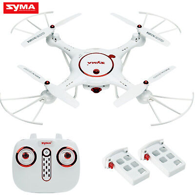 2 Batteries Syma X5UC RC Quadcopter Drone 2.4G 4CH 6Axis HD Camera Barometer