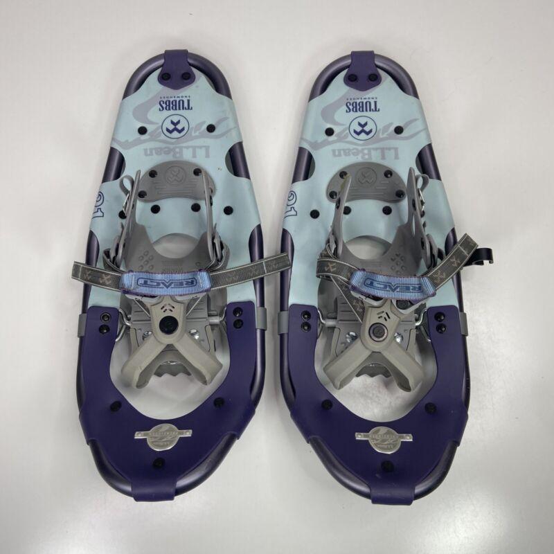 LL Bean Tubbs Snowshoes Pathfinder React Blue