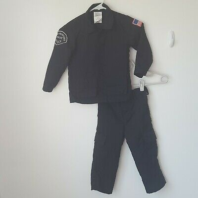 Rapid Response Swat Police 3T/4T Kids Halloween Costume Boy or Girl