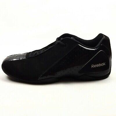 Reebok Deep Range Low Basketball Shoes Mens Size 12 EU 45.5 Black Sneaker V44490 Deep Range Basketball Shoe