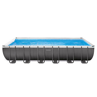 "Intex 24' x 12' x 52"" Ultra Frame Rectangular Swimming Pool Set | 28361EH"