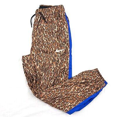 Nike Repel Track Pants Cheetah Print Brown Blue Black BQ9080-786 Men's S-XL