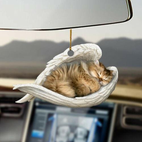 British Longhair sleeping angel British Longhair lovers cat moms ornament