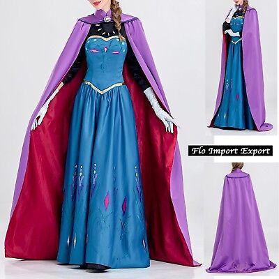Frozen Karnevalkleid Frau Elsa Krönung Frau Cosplay Kostüm 8899501