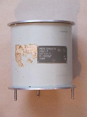 1000pf 0.05 P597 Capacitor Standard Capacitance An-g General Radio 1401d Genrad