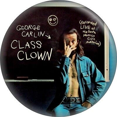 "Used, 31116 George Carlin Class Clown Stand-Up Comedian Gift 2.25"" Refrigerator Magnet for sale  Shipping to India"