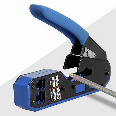 Rj45 Tool Network Crimper Crimping Tools Stripper Cuting Ethernet Cable Fit Rj45