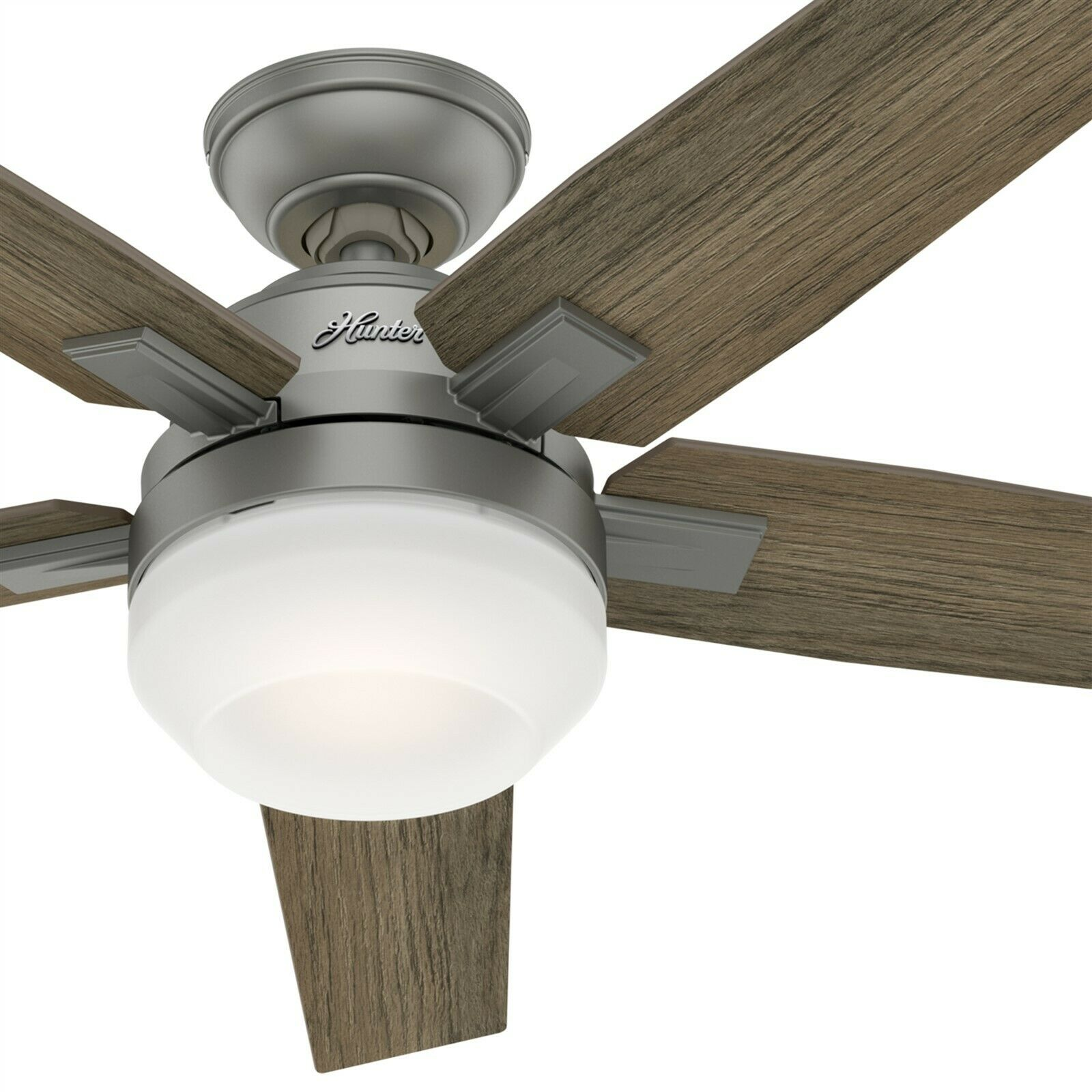 Hunter Fernwood Ceiling Fan With Light 70 Inch 55049 For Sale Online Ebay