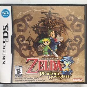 Zelda Phantom Hourglass for DS