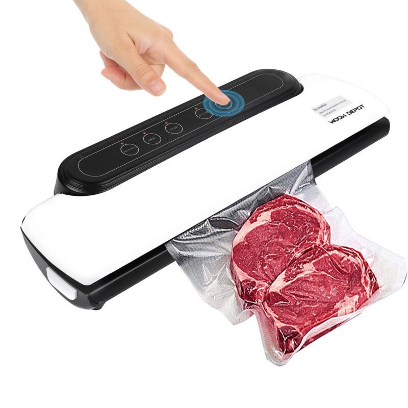 Vacuum Sealer Machine Automatic Air Sealing System 65KPA For Food Meal +10 Bags