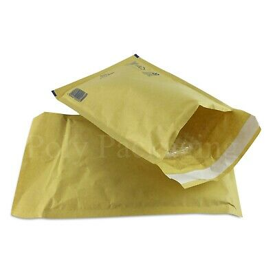 200 x GOLD BUBBLE ENVELOPES 180x265mm(D/1)(EP4)Padded Bags MEDIUM Mailing