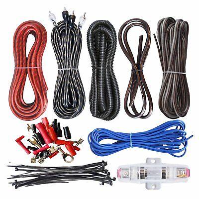 Amp Wire (2300W 8GA Car Audio Subwoofer Verstärker Endstufe AMP Wire Kabel Kit Set  ZC)