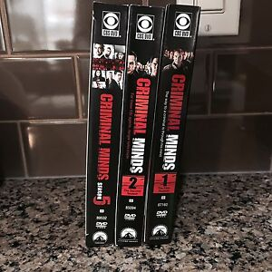 criminal minds dvd's