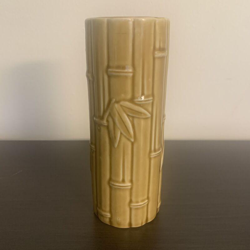 Vintage Orchids of Hawaii Ceramic Bamboo Tiki Cup Mug - Japan