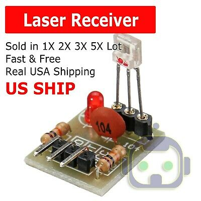 For Arduino Laser Receiver Transmitter Sensor Module Board Non-modulator Tube