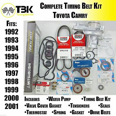 Toyota Camry Timing Belt Kit COMPLETE with Water Pump Fits 4 Cyl Engines All