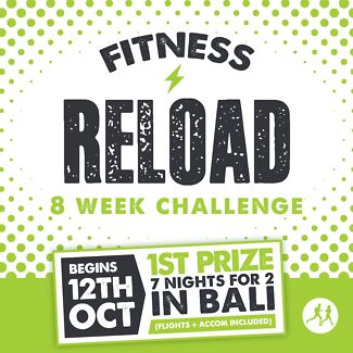 Fitness Reload 8 Week Challenge Gold Coast Region Preview