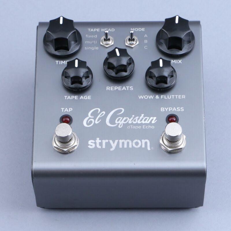 Strymon El Capistan Tape Echo Guitar Effects Pedal P-14671
