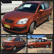 Kia Rio 2007 great first car cheap and reliable Wallerawang Lithgow Area Preview