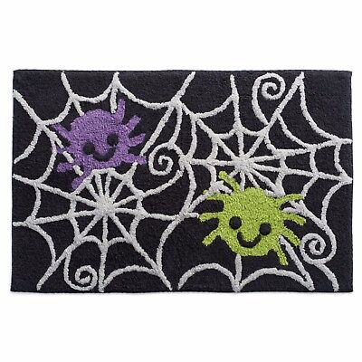 Celebrate Together Halloween Spiders Bath/Kitchen Rug Mat 20x30 NWT $30