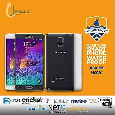Samsung Galaxy Note 4 Iv  32Gb 64Gb  Straighttalk At T Cricket T Mobile Metropcs