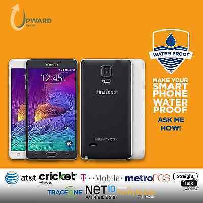 Samsung Galaxy Note 4 Iv  32Gb 64Gb  Straighttalk At T Cricket T Mobile Metropcs