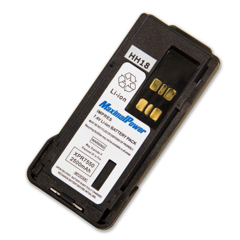 Refuelergy Replacement Impres Battery for Motorola XPR7550 Li-ion 7.4v 2500mAh