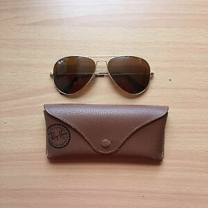Authentic Ray Bans and Case