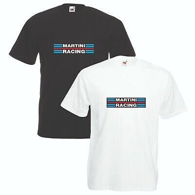 Martini Racing T-Shirt Car Enthusiast Lancia Rally VARIOUS SIZES & COLOURS - Martini Racing Shirt