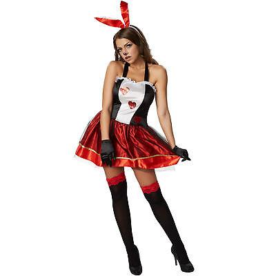 Damen Hasen Kostüm Fasching Karneval Halloween Kleid sexy Bunny Häschen Erotik