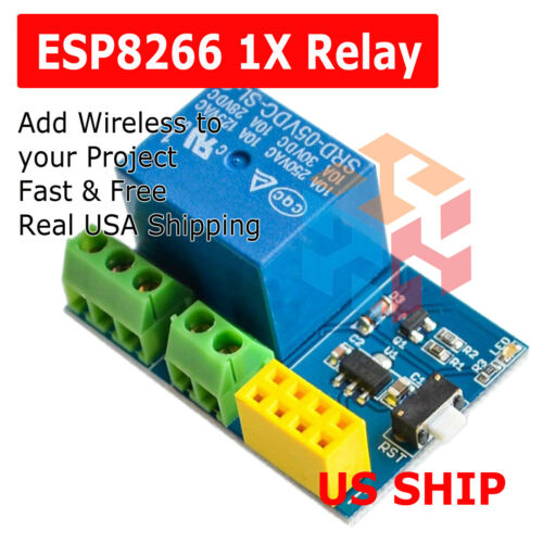 ESP8266 Relay Module Smart Home Phone Remote Control Switch APP ESP-01S 5V WiFi